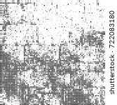 vector halftone black and white.... | Shutterstock .eps vector #722083180