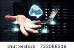 cloud computing technology for... | Shutterstock . vector #722088316