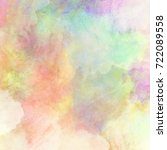 hand painted pastel background. ...   Shutterstock . vector #722089558