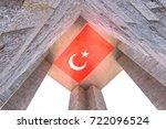 canakkale martyrs' memorial is...   Shutterstock . vector #722096524
