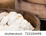 thai street food with kind of... | Shutterstock . vector #722104498