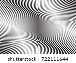 abstract twisted background.... | Shutterstock .eps vector #722111644