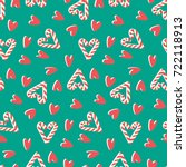 Candy Cane Love Pattern