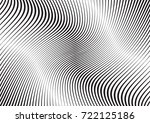 abstract twisted background.... | Shutterstock .eps vector #722125186