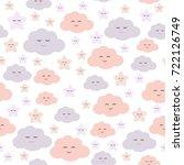 seamless pattern vector for... | Shutterstock .eps vector #722126749