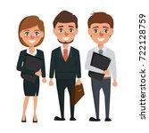 business people teamwork... | Shutterstock .eps vector #722128759