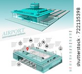city transport info graphic... | Shutterstock .eps vector #722135398