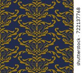 vector pattern design  seamless ... | Shutterstock .eps vector #722137768