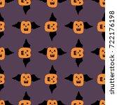pumpkin  pattern  vector...