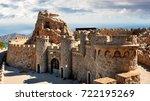 empty heritage unusual famous... | Shutterstock . vector #722195269