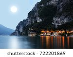 the city riva del garda by... | Shutterstock . vector #722201869