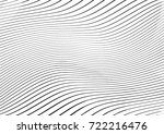 abstract twisted background.... | Shutterstock .eps vector #722216476