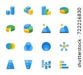 icon set   chart   Shutterstock .eps vector #722216830