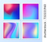 creative   vibrant gradients.... | Shutterstock .eps vector #722221960