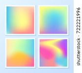 creative   vibrant gradients....   Shutterstock .eps vector #722221996