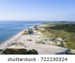 aerial photo of a natural beach ... | Shutterstock . vector #722230324