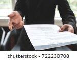 business find new job ... | Shutterstock . vector #722230708