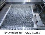 glass vials for liquid samples. | Shutterstock . vector #722246368