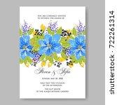Floral Blue Peony Wedding...
