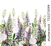 beautiful floral background of... | Shutterstock . vector #722273599