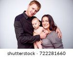 mother and baby. family.... | Shutterstock . vector #722281660
