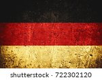 flag of germany or german... | Shutterstock . vector #722302120