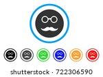 pension smiley icon. vector... | Shutterstock .eps vector #722306590