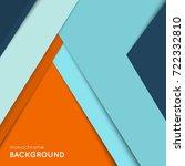geometric cover design. flat...   Shutterstock .eps vector #722332810