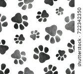 watercolor seamless pattern... | Shutterstock . vector #722342350