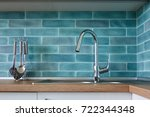 modern kitchen  a picture of a... | Shutterstock . vector #722344348