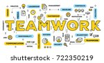 vector creative illustration of ... | Shutterstock .eps vector #722350219