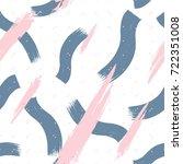 expressive textures organic... | Shutterstock .eps vector #722351008