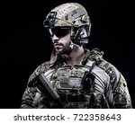usa delta special forces | Shutterstock . vector #722358643