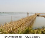 Bamboo Bridge In Kampong Cham ...