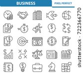 business icons. professional ... | Shutterstock .eps vector #722366770