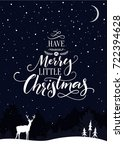 Christmas Card With Text Have...