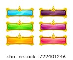 decorative vector colorful long ...