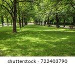 beautiful landscape of english...   Shutterstock . vector #722403790