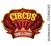 Carnival Circus Banner With Bi...