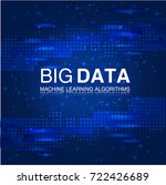 big data machine learning... | Shutterstock .eps vector #722426689