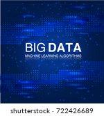 big data machine learning... | Shutterstock .eps vector #722426689