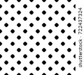 repeated black mini crosses on... | Shutterstock .eps vector #722437324