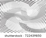 abstract twisted background.... | Shutterstock .eps vector #722439850