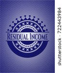 residual income with jean... | Shutterstock .eps vector #722443984