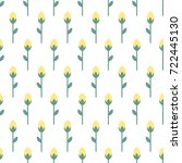 Tiny Flowers Seamless Pattern....