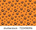 texture for halloween | Shutterstock . vector #722458396