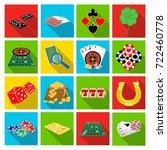entertainment  leisure ... | Shutterstock .eps vector #722460778