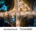 the light on the road... | Shutterstock . vector #722460889