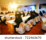 meeting and conference room... | Shutterstock . vector #722463670