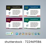 collection of vector... | Shutterstock .eps vector #722469586